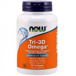 NOW Tri-3D Omega 90caps
