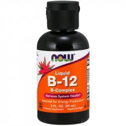 NOW Liquid B-12 B-Complex 59ml