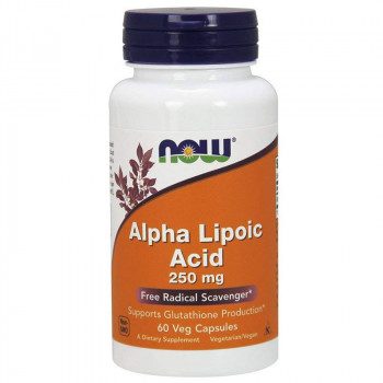 NOW Alpha Lipoic Acid 250mg 120vegcaps