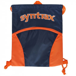SYNTRAX Drawstring Bag Navy...