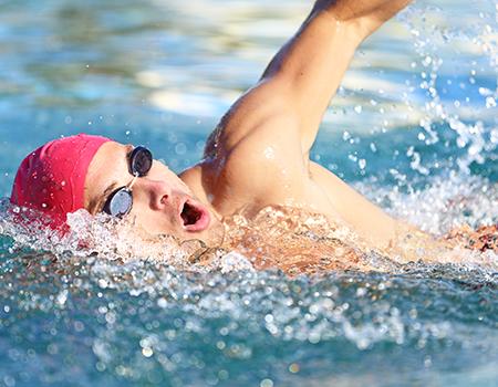 Budowanie siły na basenie, czyli trening w wodzie!