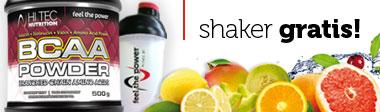 Hi Tec Bcaa Powder + Shaker